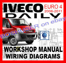 iveco daily 2007 wiring diagram goodman 4 ton heat pump van and pickup manuals literature ebay euro 2006 2011 workshop service repair manual diagrams