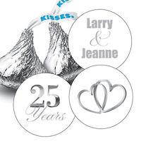 108 Hugs & Kisses from the new Mr. & Mrs. Hershey Kiss
