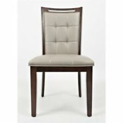 Faux Leather Dining Chairs Childrens Table And Wood Ebay Jofran Manchester Upholstered Chair Set Of 2