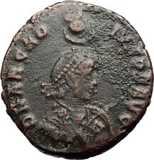 ARCADIUS Authentic Ancient 383AD Constantinople Original Roman Coin i71235