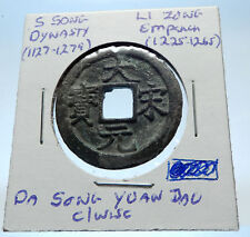 1225AD CHINESE Southern Song Dynasty Genuine LI ZONG Cash Coin of CHINA i72303