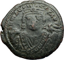 MAURICE TIBERIUS 582AD Antioch Follis Authentic Ancient Byzantine Coin i71185