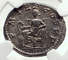 SEVERUS ALEXANDER Authentic Ancient 222AD Silver Roman Coin SALUS NGC i72792