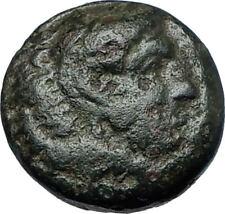 ALEXANDER III the GREAT 336BC Macedonia Ancient Greek Coin HERCULES CLUB i68388