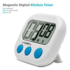 Loud Kitchen Timer Delta Leland Faucet Ebay Magnetic Digital Cooking With Alarm And Large Lcd Display Dd