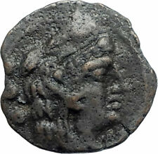 Roman Republic aftr 211BC Quadrans Authentic Ancient Coin HERCULES GALLEY i74828