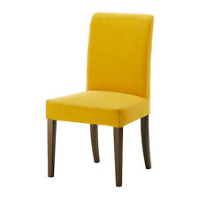 chair covers ebay uk dining room pottery barn ikea henriksdal in chairs cover skiftebo yellow new