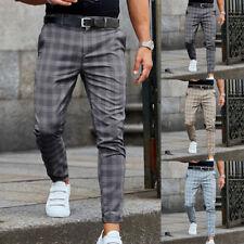 pantalon a carreau homme en vente ebay