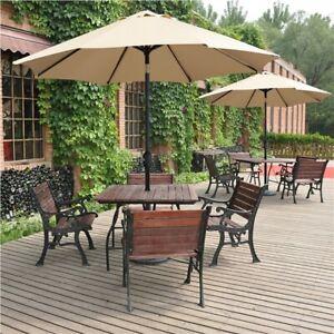 garden patio parasol accessories for