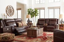 ashley living room ideas for decorating your furniture leather sofas loveseats chaises ebay wyline power reclining sofa and loveseat