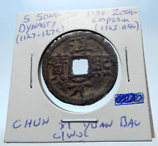 1163AD CHINESE Southern Song Dynasty Genuine XIAO ZONG Cash Coin of CHINA i72326