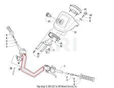 Arctic Cat ATV, Side-by-Side & UTV Handle Bars, Levers