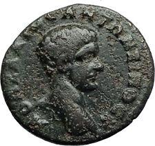 DIADUMENIAN son of Macrinus 218AD Marcianopolis Ancient Roman Coin TYCHE i70775