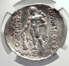 Celtic Celts Danube Silver Tetradrachm Greek Style Coin like THASOS NGC i72602
