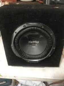 Sony Explodes 12 Subs : explodes, Xplod, Subwoofers