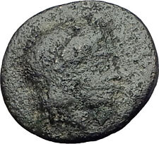 Kolophon Colophon IONIA 360BC Authentic Ancient Greek Coin APOLLO & HORSE i63233