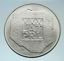 1974 Poland 30th ANNIVERSARY Polish Peoples Republic  Genuine Silver Coin i75383