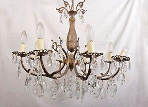 lampadario in bronzo e cristallo. Lampadario Gocce Di Cristallo Acquisti Online Su Ebay