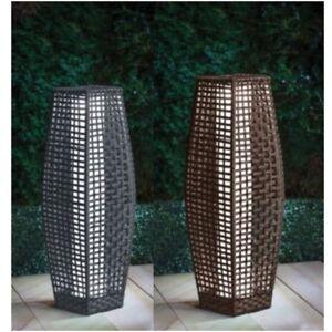 solar outdoor decor candle lanterns for