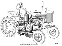 184 McCormick IH Farmall Super A Runner Planter Manual Cub