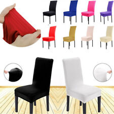 guineys dining chair covers pembrokeshire room slipcovers ebay 1x solid spandex cover multicolor wedding party banquet decor