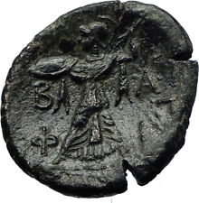 PHILIP V Original Ancient 200BC RARE R1 Macedonia Greek Coin ZEUS ATHENA i69202
