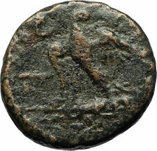 PERSEUS 179BC Macedonia King RARE R2 Authentic Ancient Greek Coin Eagle i71684