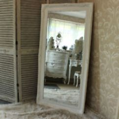 Large Decorative Mirrors For Living Room Rooms With Dark Grey Couches Ebay Extra White Wall Floor Ornate Mirror Bedroom Hall Vintage Home