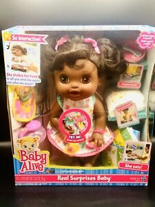 Baby Alive Real Surprises Baby Doll Bonus Pack : alive, surprises, bonus, Bottle, Alive, Interactive, Dolls, Stock