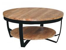 Neues Angebotdesign Couchtisch Mango Holz Metall Mark Rund Beistelltisch Xcm Neu