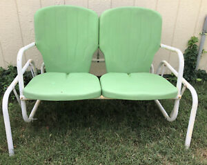 vintage patio glider products for sale