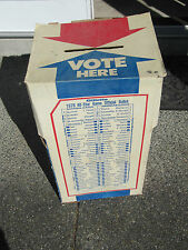 Image result for gillette all-star ballot box