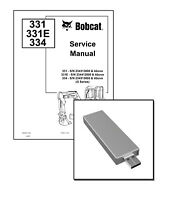 Bobcat 337 341 G-Series Excavator Service Repair Manual