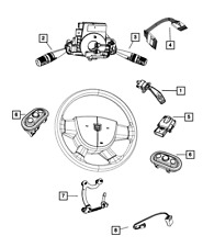 Interior Switches & Controls for 2008 Chrysler PT Cruiser