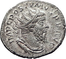 POSTUMUS  260AD Silver Authentic Ancient Roman Coin Providentia  i65350