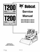 Bobcat 864 & Highflow Skid Steer Loader Service Repair