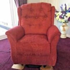 Fabric Living Room Chairs Home Decoration Ebay Lift Chair Recliner