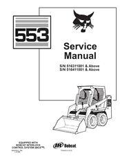 Heavy Equipment Manuals & Books for Bobcat Skid Steer