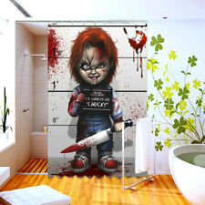 horror movie shower curtain ebay