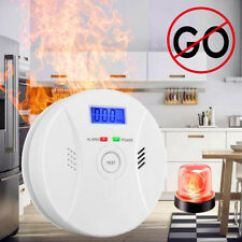 Kitchen Smoke Detector Fabric For Curtains Alarm Ebay Combination Carbon Monoxide And Fire Co Home