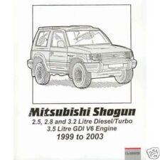 Mitsubishi Pajero Manuals/Handbooks Car Manuals and
