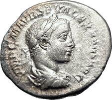 SEVERUS ALEXANDER  224AD Rome Ancient Silver Roman Coin SALUS Health i73569