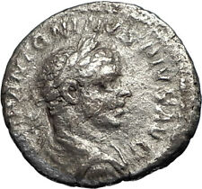ELAGABALUS 220AD Rome Authentic Ancient Silver Roman Coin Victory i67338