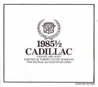 1990 CADILLAC DEVILLE FLEETWOOD WIRING DIAGRAMS SCHEMATICS
