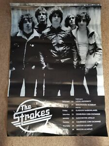 the strokes poster products for sale ebay