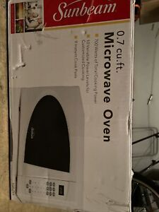 sunbeam microwaves for sale ebay