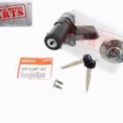 Honda Ruckus Ignition Wiring Diagram 1998 Chevy Tahoe Other Scooter Parts For 50 Ebay New Genuine Switch Fuel Cap Lock Set 2007 2009