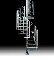 Iron Spiral Staircases Products For Sale Ebay   Reclaimed Spiral Staircase For Sale   Architectural Antiques   Wrought Iron Spiral   Architectural Salvage   Reclaimed Antique   Railing