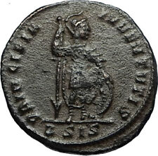 CRISPUS Son of CONSTANTINE the GREAT Authentic Ancient 317AD Roman Coin i67091