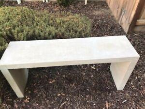 sillas de patio de concreto